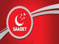 3 bin kişi Saadet Partisi'nden istifa etti