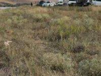 Barajda yanmış erkek cesedi bulundu
