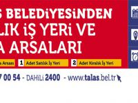 Talas Belediyesi arsa villa satış ilanı