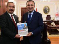 Anadolu yayıncılarından Başbakan Yardımcısı Bozdağ'a tebrik!