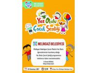 Melikgazi Belediyesi'nden Yaz Okulu Çocuk Şenliği