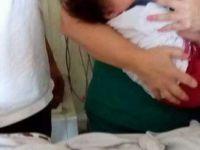 Kayseri'de 6 aylık bebeği su kanalına terk ettiler