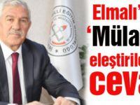 Kayseri İl Milli Eğitim Müdürü Elmalı'dan 'Mülakat' eleştirilerine cevap
