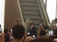 Hulusi Akar Millet Camii'nde sabah namazı kıldı
