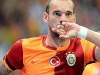 Wesley Sneijder'in Türkiye de bir dikili ağacı oldu