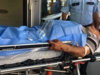 Organize'de Kadının bıçakladığı adam hastaneye kaldırıldı