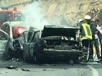 Kayseri'de trafik kazası 6 kişi Canları zor kurtardılar