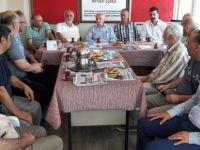 AK Parti Kayseri eski Milletvekili Yaşar Karayel'den Mazlum-Der'e ziyaret