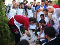 Kayseri Kaymek'te kurban kesim kursu veriliyor