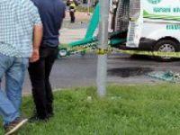 Kayseri'de iki otomobil çarpıştı: 1 ölü, 1 yaralı