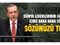 Erdoğan dünya liderlerine seslendi: Sözünüzü tutun