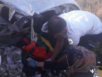 Ovaçiftliği'nde trafik kazası: 1 ölü 3 yaralı