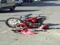 Ters yönde ilerleyen motosiklet kaza yaptı: 1 ölü