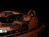 Kayseri'de 2 otomobil çarpıştı: 8 yaralı