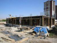 Gesi'ye emniyet binası inşa ediliyor