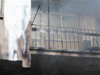 Çorakçılar Mahallesi'nde kullanılmayan bir dükkanda yangın