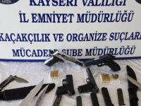 Kayseri'de silah operasyonu: 3 gözaltı