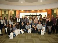 Başkan Çolakbayrakdar, Kıbrıslı öğrenci ve öğretmenleri misafir etti