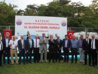 Kayseri'de Amatör Spor Kulüplerine malzeme yardımı yapıldı