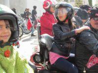 Pars Chopper Şehit ve gazi çocuklarını sevindiren şehir turu