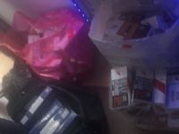 Kayseri'de bin 410 paket kaçak sigara ele geçirildi