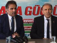 AK Parti Kocasinan İlçe Başkanı Muammer Kılıç Gazeteciler Cemiyetini Ziyaret Etti