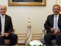 İstanbul BB.Başkanı Topbaş İstifa etmeden Önce Bakan Özhaseki ile görüştü