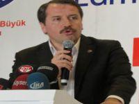 Memur Sen Genel Başkanı Ali Yalçın Kayseri'de