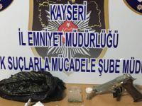 Kayseri'de Uyuşturucu operasyonunda 4 kişi yakalandı