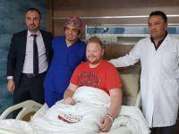 Magnet Hastanesi'nde Fransız Hastaya Tüp Mide ameliyatı yapıldı