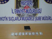 Kayseri'de Zehir tacirine gözaltı
