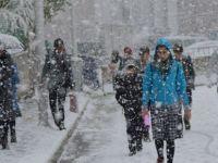 Salı,Çarsamba ve Perşembe Erciyes'e Kar Geliyor