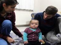 Kayseri'de Eymen bebek yaşamak için yardım eli bekliyor