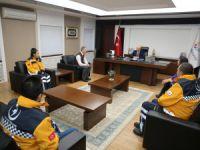 Başkan Çolakbayrakdar, sağlık çalışanlarını misafir etti