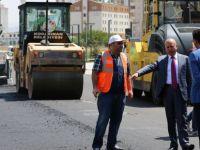 Kocasinan Belediyesi, asfalt çalışmalarıyla rekorları alt üst etti