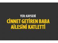 Kayseri'de cinayet komşuları olay anını anlattı