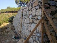 Melikgazi Belediyesi 2017'de 490 metre istinat duvarı yaptı