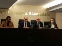 Ak Parti Kocasinan İlçe Haftalık Olağan Toplantısını Yaptı