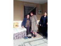 Vali Süleyman Kamçı'nın eşi Ayşe Kamçı Akkışla'da