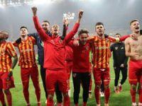 Kayserispor kupa'da 16'ya kaldı
