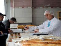 Talas'ta Zabıta ekiplerinden fırın denetimi