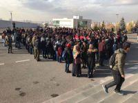 Kayseri'de Üniversite öğrencileri 15 Temmuz Yerleşkesi'nde 15 şehidi andı