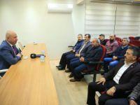 Başkan Çolakbayrakdar, Eğitim-Bir-Sen'e konuk oldu