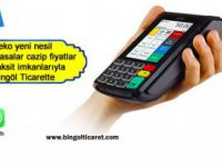 Bingöl Ticaret'te yazar kasalar cazip fiyatlar ve taksit imkanlarıyla: