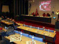 Eğitim-Bir-Sen adına programın açılış konuşmasını yapan Hacı Sarı: