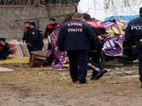 Kayseri'de saman makinesine kapılan şahıs hayatını kaybetti