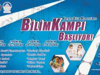 Kayseri'de Bilim kampı başlıyor