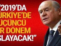 Bahçeli AK Parti ile hareket edeceğiz