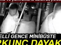 İşitme engelli genci dolmuşta tekme tokat dövdüler-video
