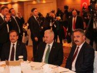 Başbakan Yıldırım Başkan Sinan Burhan'a teşekkür ediyorum